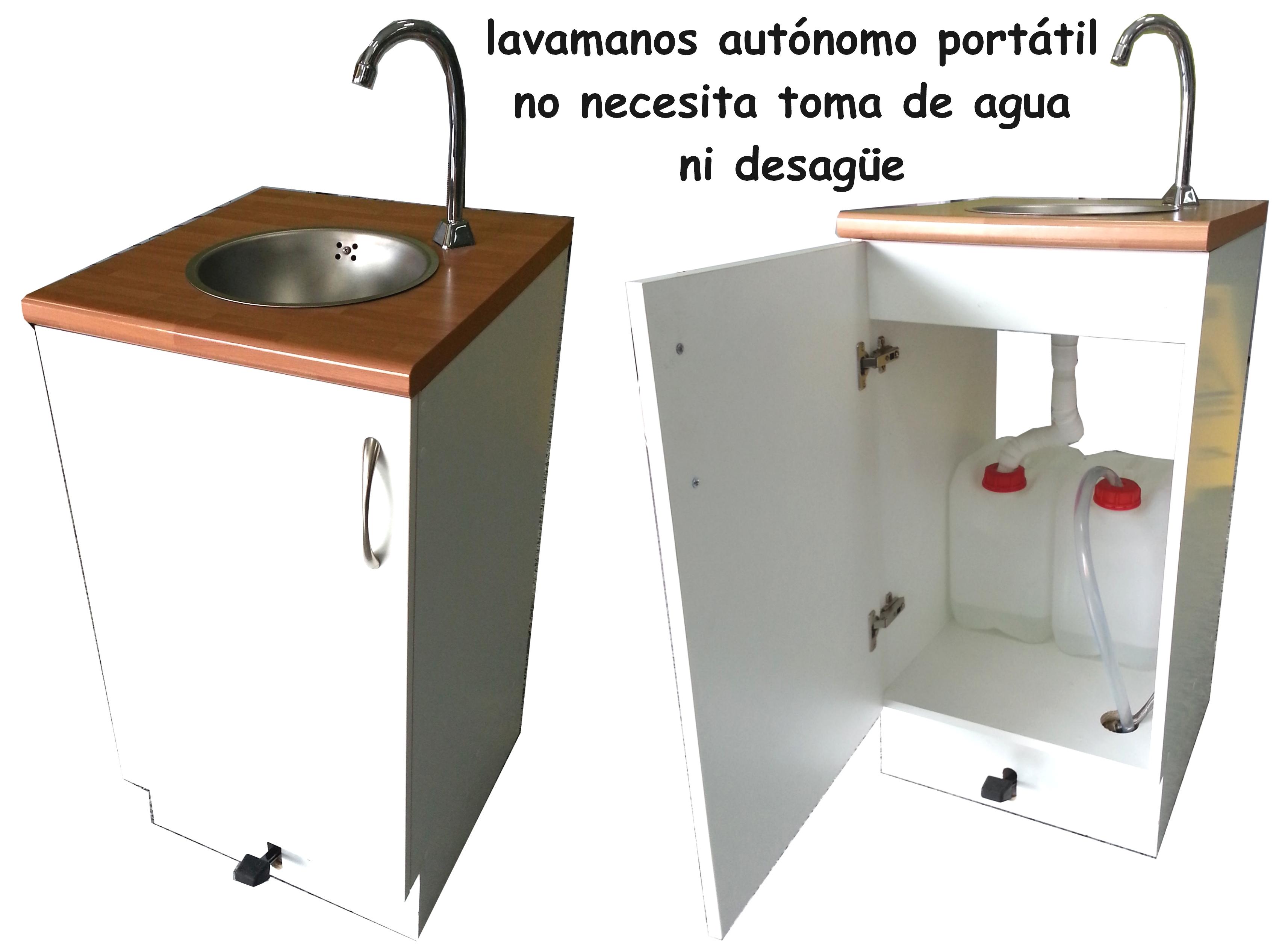 Lavabo portatil sin instalaci n airea condicionado for Lavamanos sin instalacion